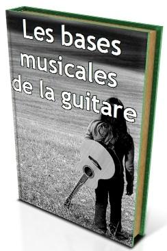 les bases musicales de la guitare