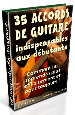 35 accords debutant guitare