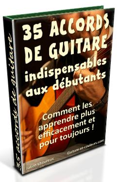 35 accords debutant guitare