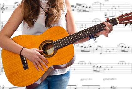 Apprendre la guitare solfege
